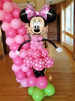 Minnie Mouse Pillar